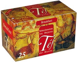 TE 25 SOBRES BREAKFAST